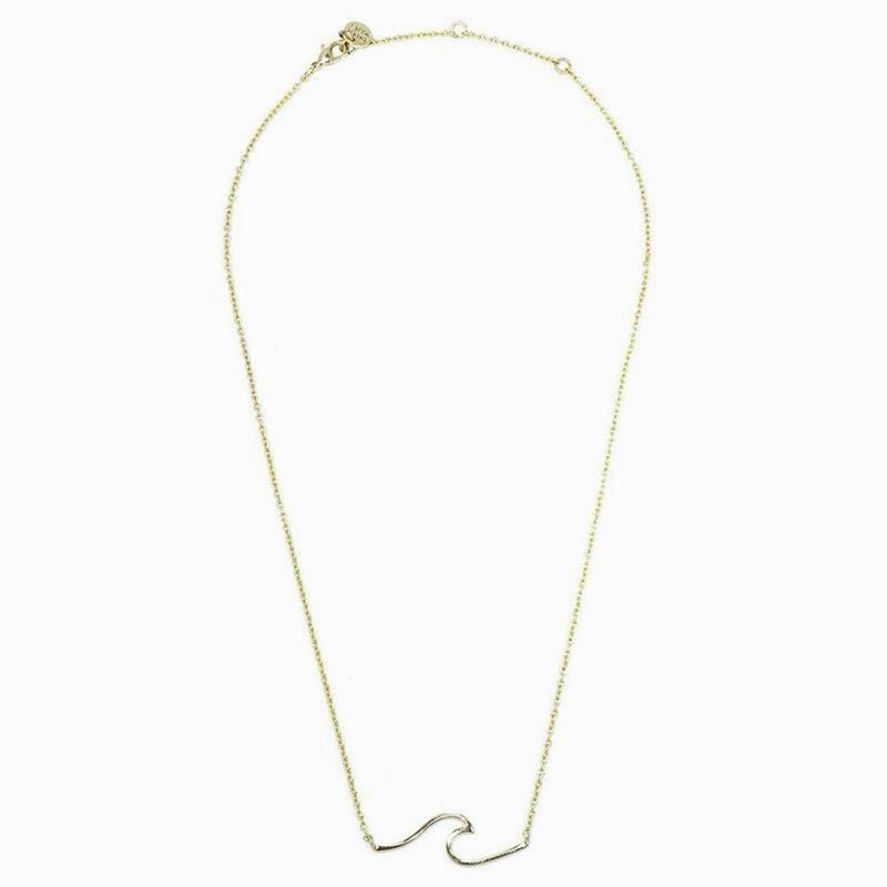 Coast Necklace (Yellow Gold)