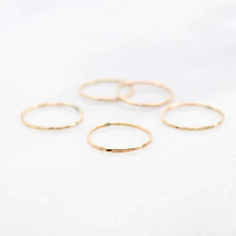 Gold Filled Stacking ring
