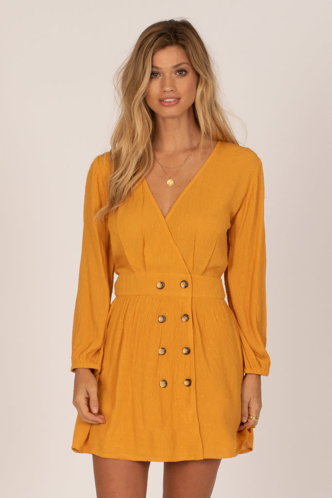 Georgie Dress (Gold)