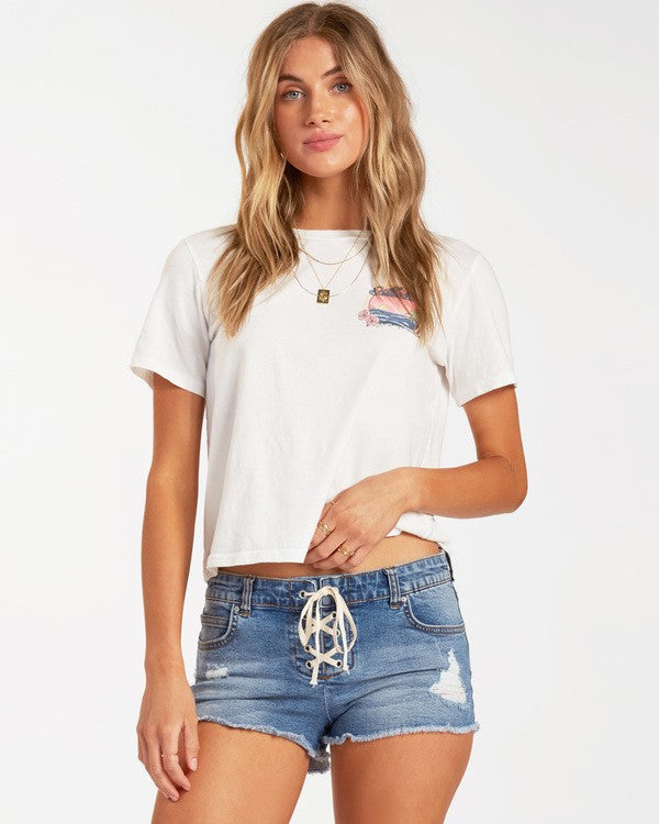 Lite Hearted Denim Shorts (IGR)