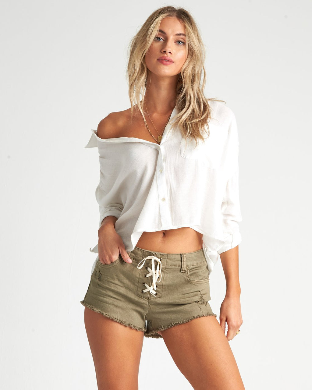 Lite Hearted Denim Shorts (BYF)
