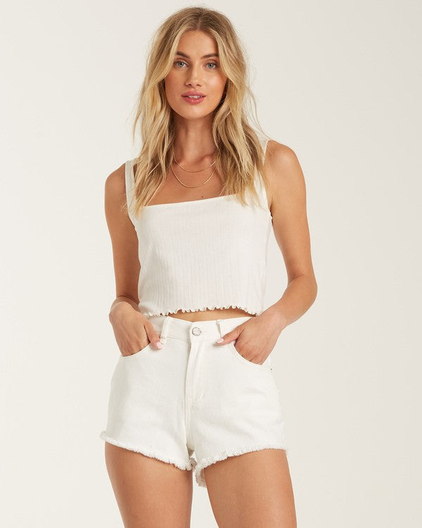 Drift Away Denim Short NO HOLES (SCS)