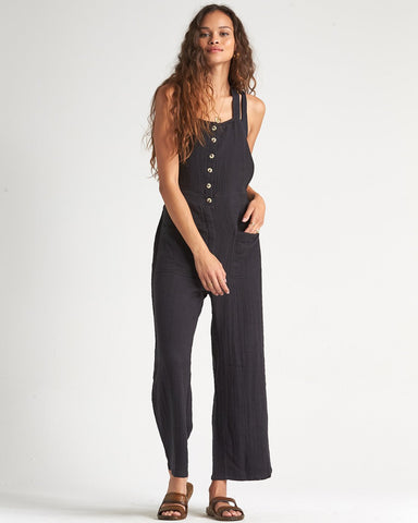 Run Like Wind Overalls (BLK)
