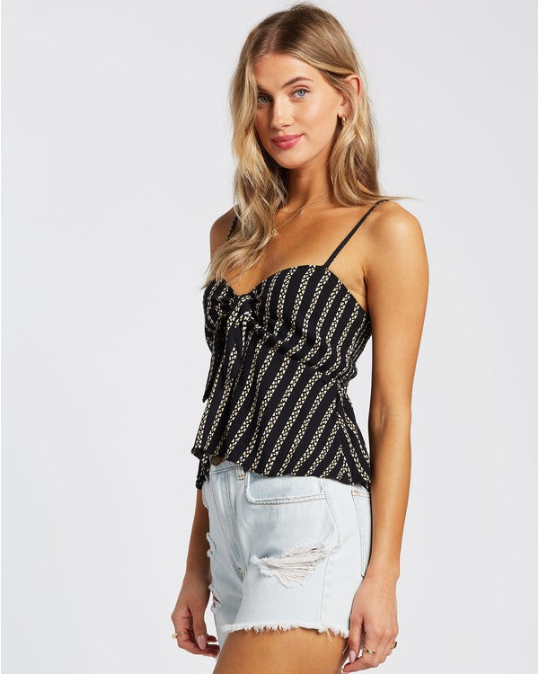 Hugs And Kisses Camisole (BLK)