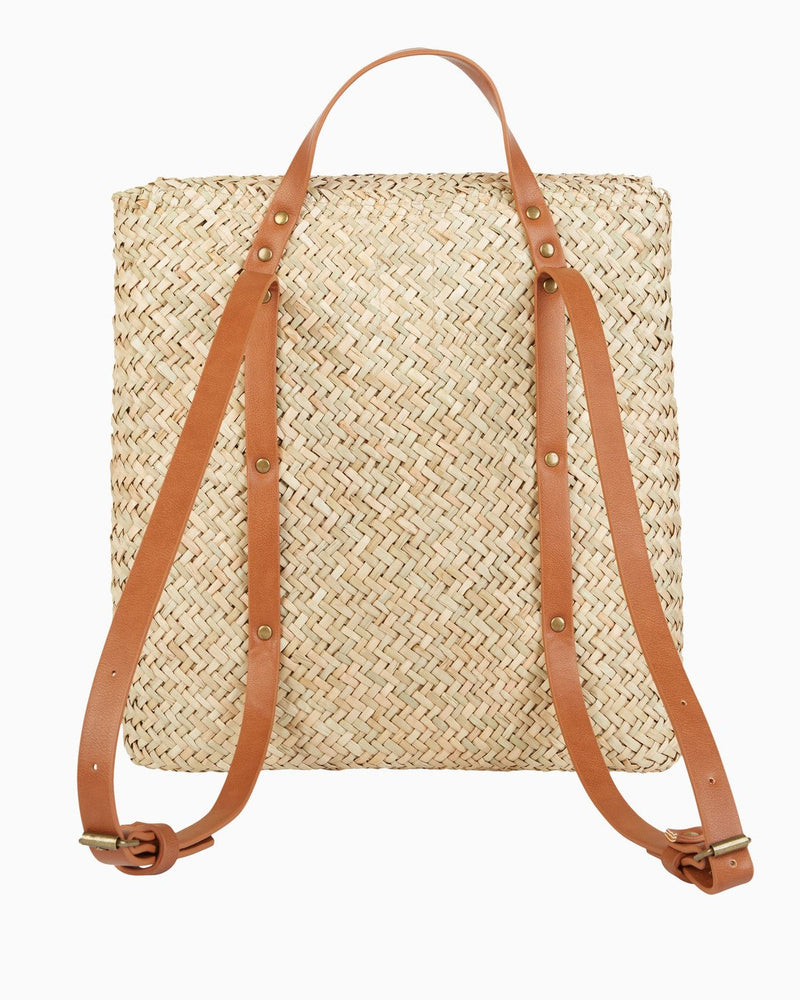 Changing Tides Straw Backpack (NAT)