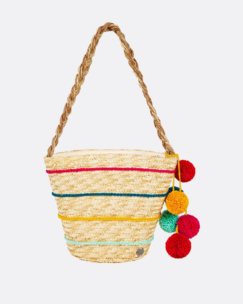 Sun Seeker Straw Tote (Natural)