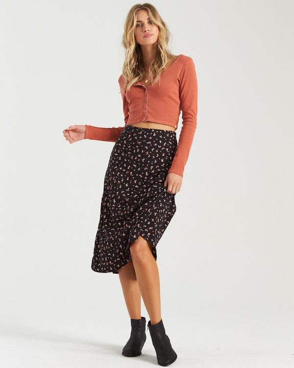 Wild And Free Skirt (BLK)