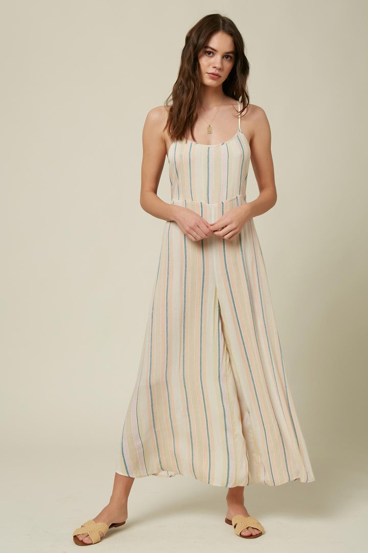Juls Striped Jumpsuit (MUL)