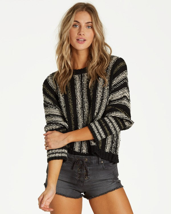 Easy Going Sweater (BLK)