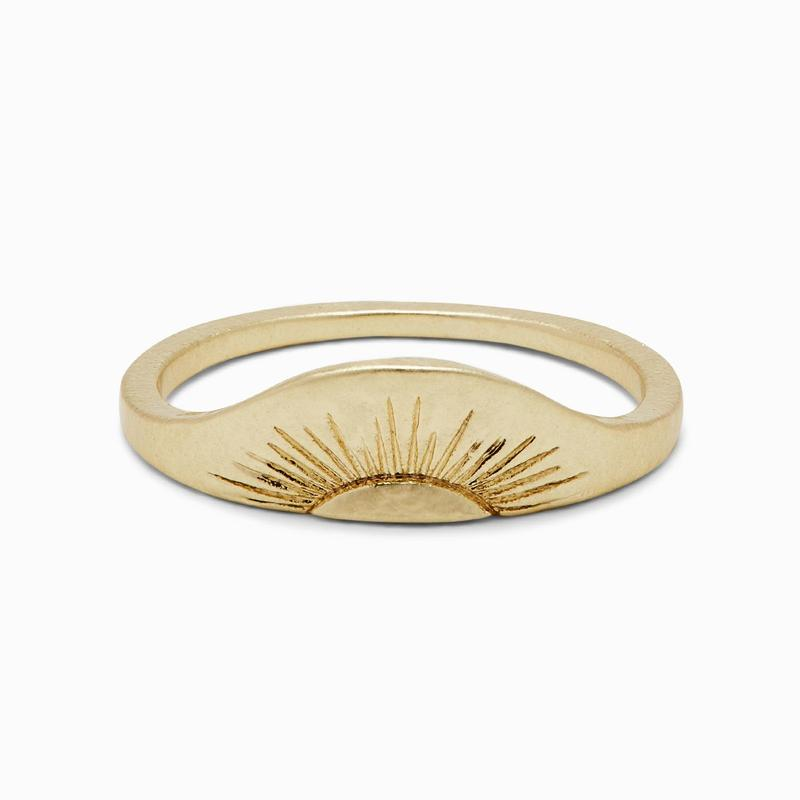 Rising Sun Ring (Gold)