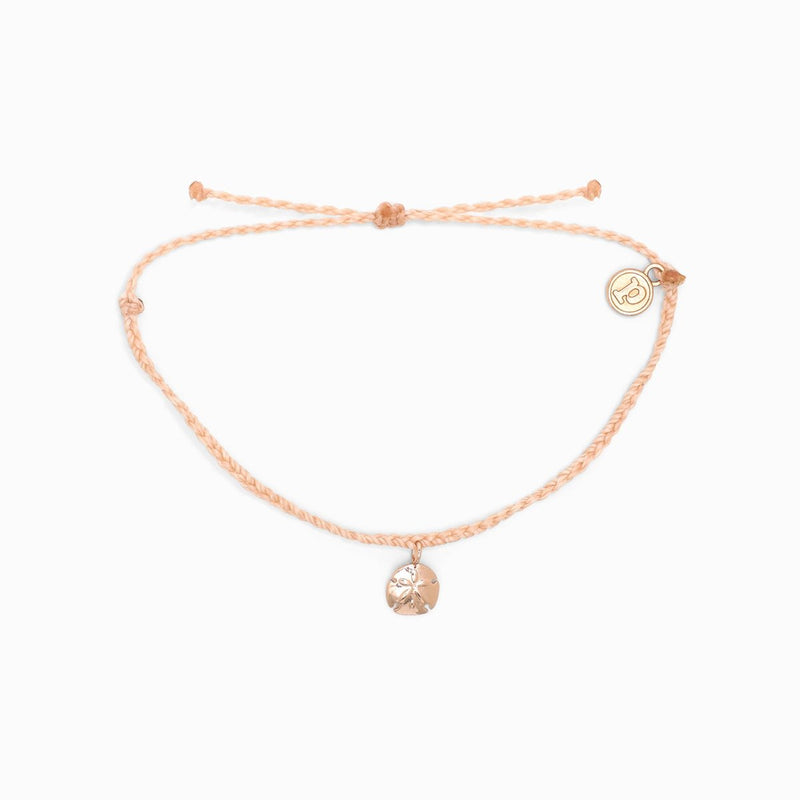 Sand Dollar Charm Rose Gold (Blush)