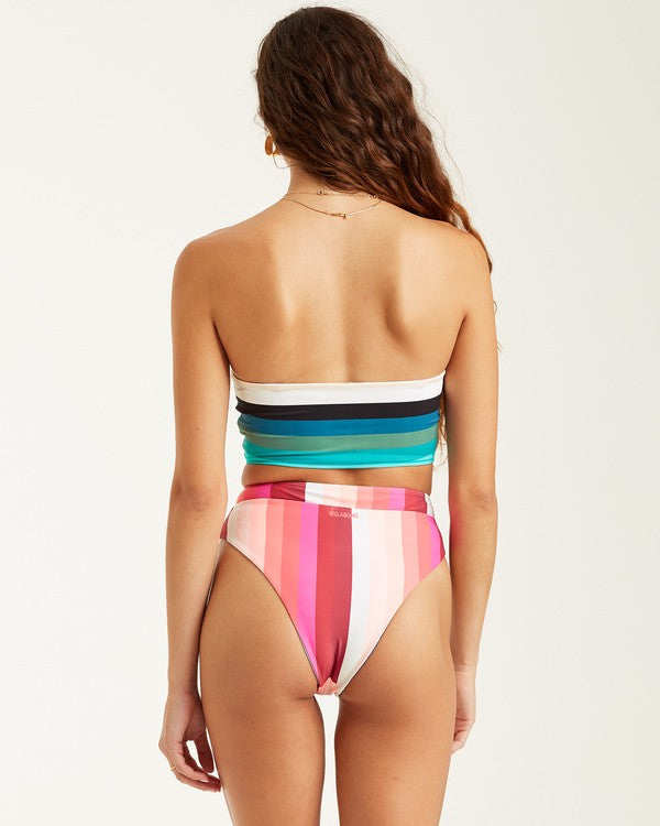 Sol Stripes Reversible Rise Bottom (MUL)