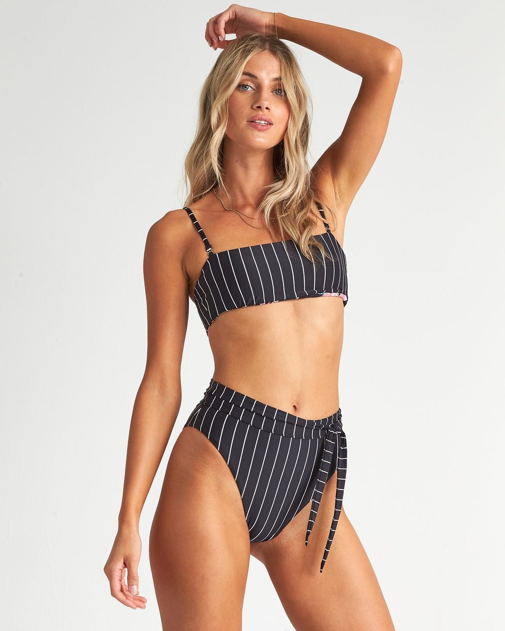 Find A Way Rise Pant Bikini Bottom (BPB)