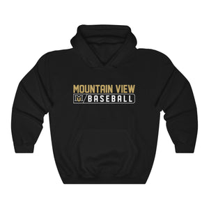 Mountain View Baseball Bar Logo Hoodie