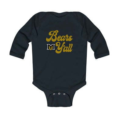 Bears Y'all Infant Onesie