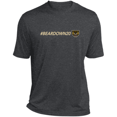 #Beardown20 Heather Dri-Fit Moisture-Wicking T-Shirt