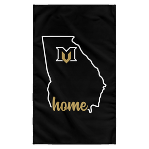 Georgia Home Collection Mountain View Wall Flag