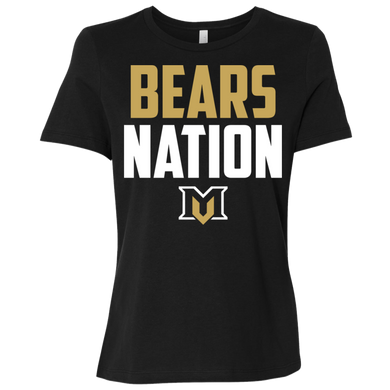 Bears Nation Ladies' Relaxed Jersey Short-Sleeve T-Shirt