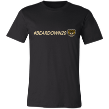 Load image into Gallery viewer, #Beardown20 Unisex Jersey Short-Sleeve T-Shirt