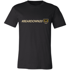 #Beardown20 Unisex Jersey Short-Sleeve T-Shirt