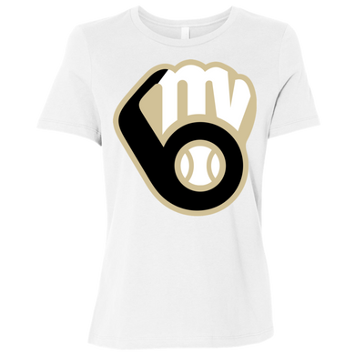 Fall20 MVAA Logo Ladies' Relaxed Jersey Short-Sleeve T-Shirt