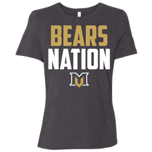 Load image into Gallery viewer, Bears Nation Ladies' Relaxed Jersey Short-Sleeve T-Shirt