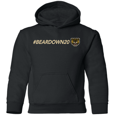 #Beardown20 Youth Pullover Hoodie