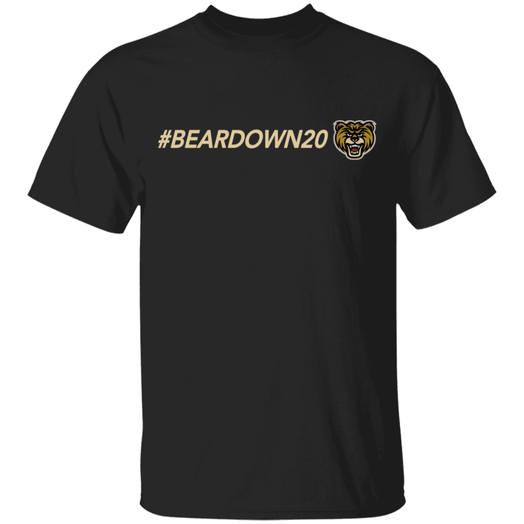 #Beardown20 Youth 100% Cotton T-Shirt