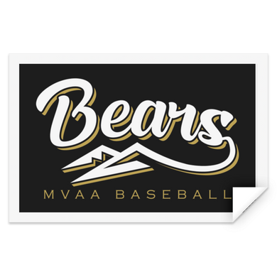 MVAA Bears Sticker Rectangle