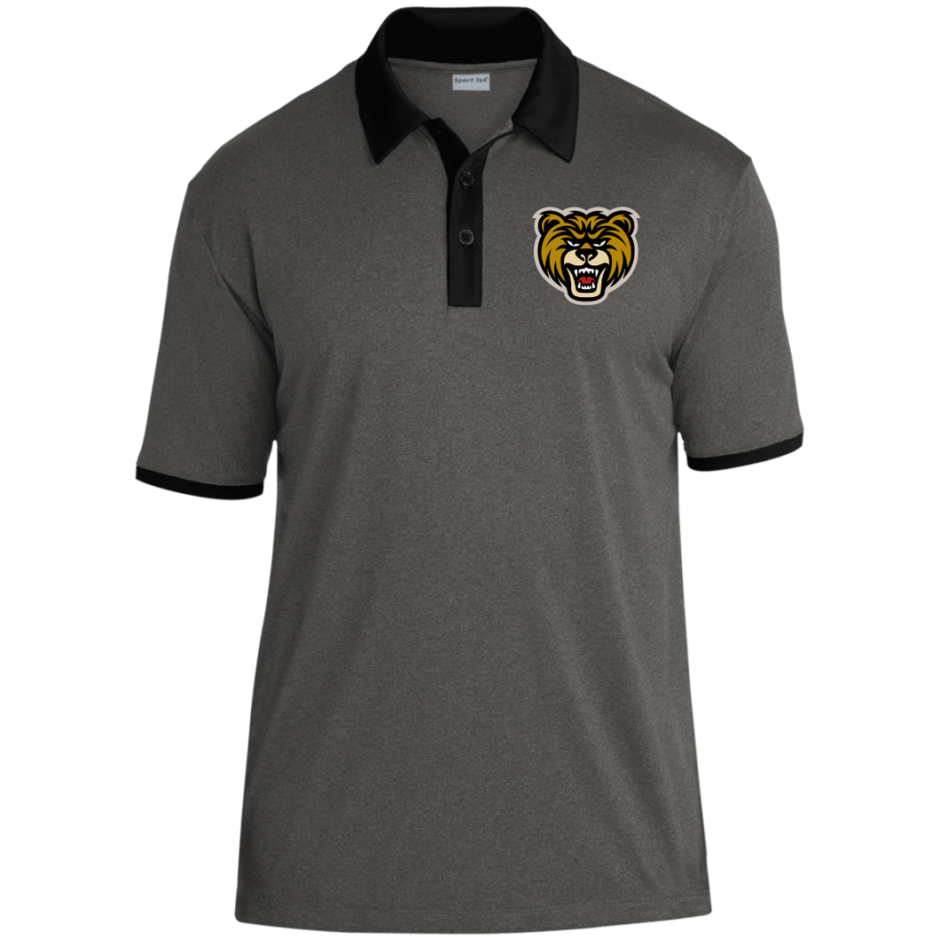 Bears Heather Contender Contrast Polo