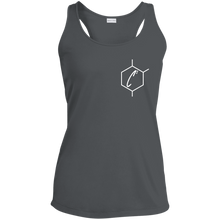 Load image into Gallery viewer, (un)disC2overed HEXA Auto Ladies' Racerback Moisture Wicking Tank