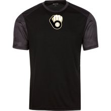 Load image into Gallery viewer, Fall20 MVAA Logo Youth CamoHex Colorblock T-Shirt
