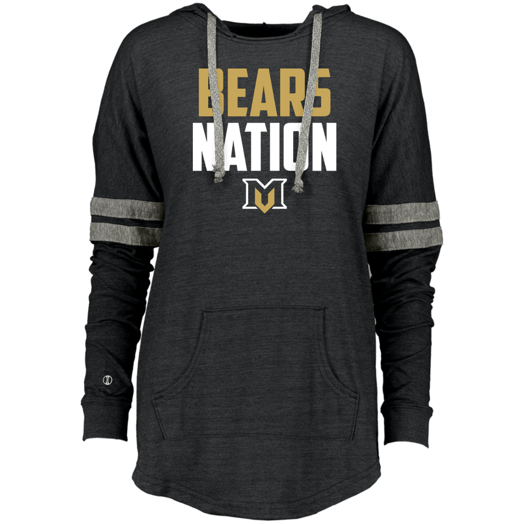 Bears Nation Ladies Hooded Low Key Pullover
