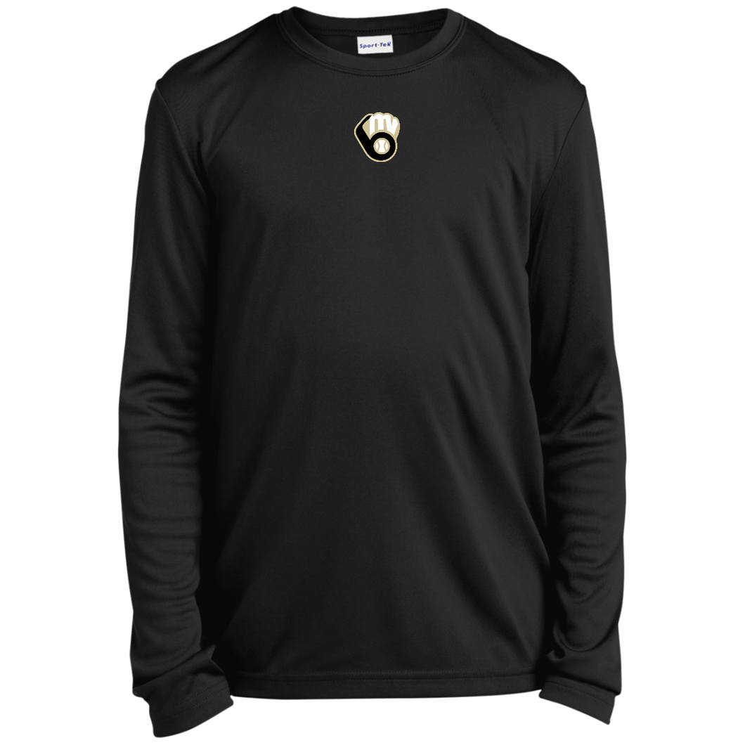 Fall20 MVAA Logo Youth Long Sleeve Moisture-Wicking T-Shirt