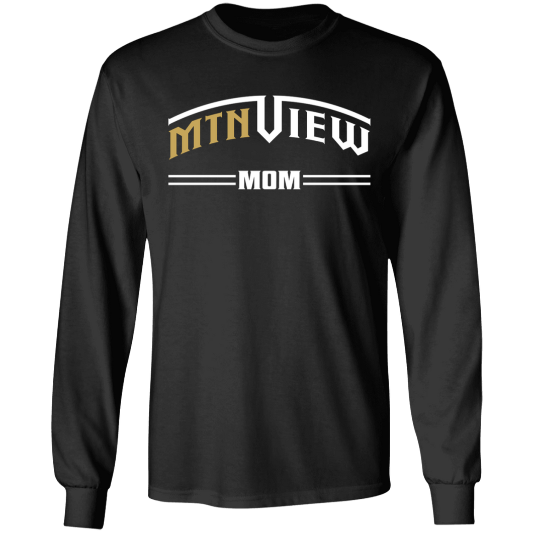 Mountain View Mom Long Sleeve Ultra Cotton T-Shirt