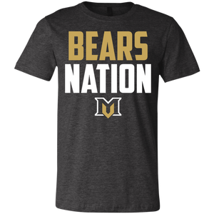 Bears Nation Youth Jersey Short Sleeve T-Shirt