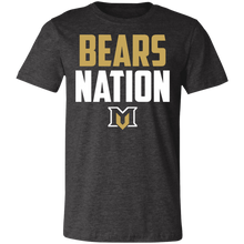 Load image into Gallery viewer, Bears Nation Jersey Short-Sleeve T-Shirt