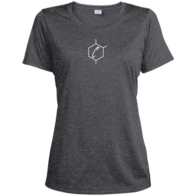 (un)disC2overed HEXA Auto Logo Ladies' Heather Dri-Fit Moisture-Wicking T-Shirt