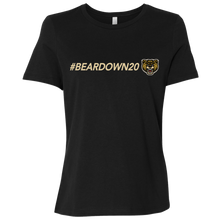 Load image into Gallery viewer, #Beardown20 Ladies' Relaxed Jersey Short-Sleeve T-Shirt