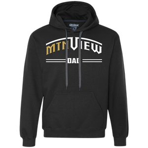 Mountain View Dad Heavyweight Pullover Fleece Sweatshirt