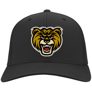 Bear Head Flex Fit Twill Baseball Cap