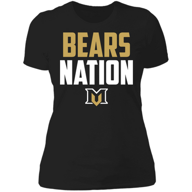 Bears Nation Ladies' Boyfriend T-Shirt
