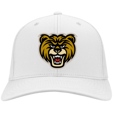 Load image into Gallery viewer, Bear Head Flex Fit Twill Baseball Cap
