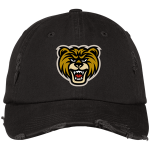 Bear Distressed Dad Hat