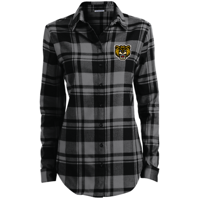 Bears Ladies' Plaid Flannel Tunic