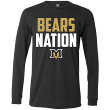 Load image into Gallery viewer, Bears Nation Men's Jersey LS T-Shirt