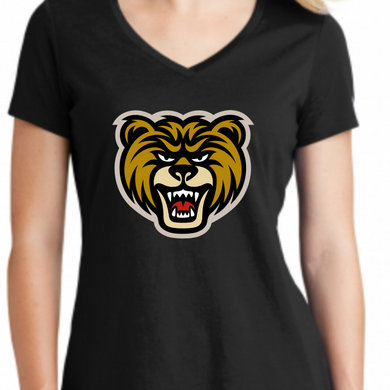 New Era LNEA101 MV Bears Logo V Neck