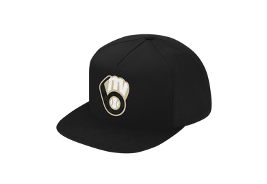 New Era Flat Bill Snap Back (NE400) MVAA Glove Logo