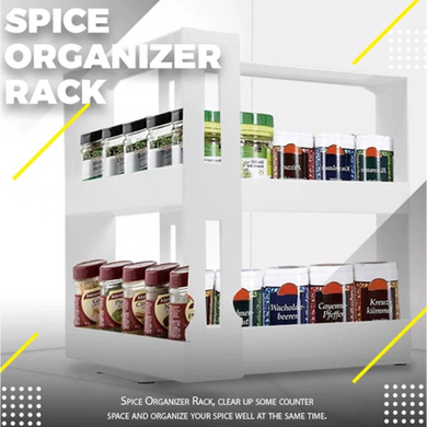 Space Saver Kitchen Spice Organizer Rack