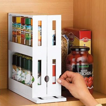 Load image into Gallery viewer, Space Saver Kitchen Spice Organizer Rack